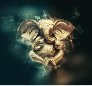 インド占星術 非常に人気のガネーシャ神