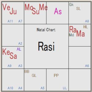 インド占星術 ナクシャトラの影響