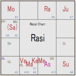 インド占星術 財務の危機的状況とラーフ