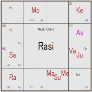 インド占星術 海外移住のケース
