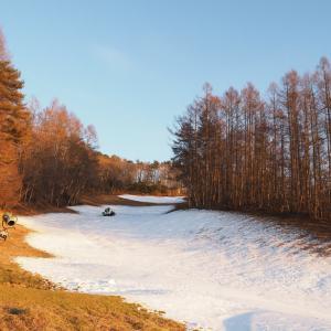 スキー場へ