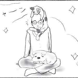 劇画漫画「ペットがやけに優しい時は、理由があるよね!」