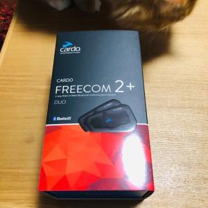 CARDO FREECOM2+インプレ