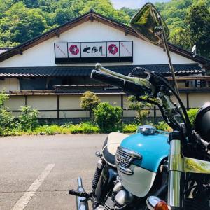 猛暑日のバイク