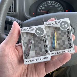 今度はセリア!?×100均メタルジグ×5gがいい(*´▽`*)