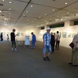 令和元年ー(7)第7回日よう会水彩画展より―初めにⅲ