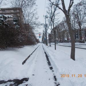 191129 歩道の雪