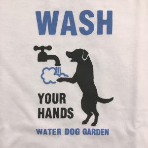 【吉祥寺】WATER DOG GARDEN手洗いワンコTシャツ
