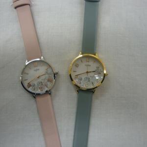 華やかでかわいらしい女性用腕時計 『ingenu アンジェーヌ』