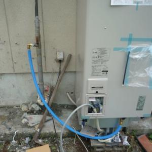 電気温水器設置と倉庫のかたずけ依頼