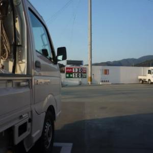 ガソリンどんどん安くなります。