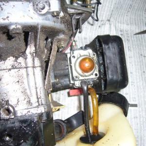 刈払い機エンジンがかからなくなりました。