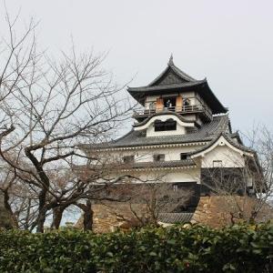 木曽川を見下ろす白帝城は10年ぶり。エール!と甲子園