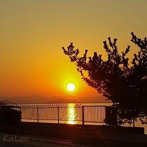久し振りの琵琶湖