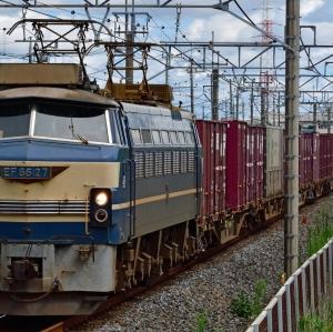 74レ隅田川シャトルで登場! EF6627