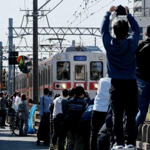 金町線柴又駅まで入線した京成3600形リバイバルカラー