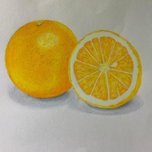 生徒さんの作品『オレンジ』