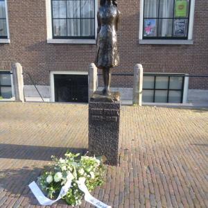 アムステルダム、アンネ・フランクの家の長蛇の列