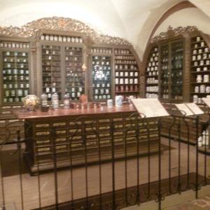 ハイデルベルク・・・ハイデルベルク城の薬事博物館