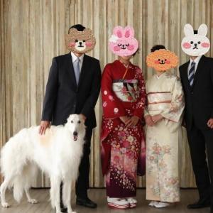 ワクチン & 家族写真