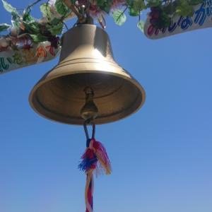 幸せの鐘と神社参り