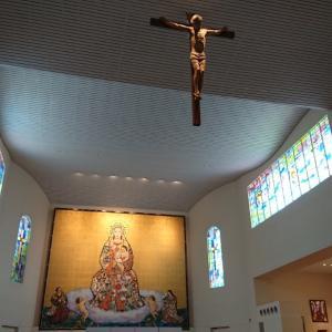 カテドラル教会と 聖なるマリアヒーリングに感謝