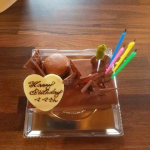 お誕生日祝って貰いました