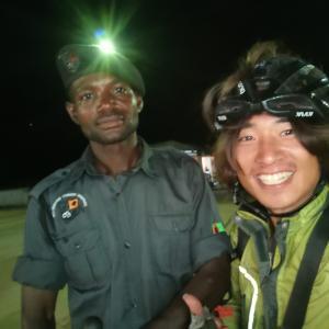 ザンビア警察のお世話になった。