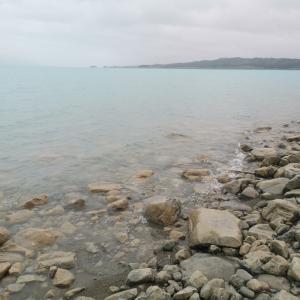 雨天のプカキ湖