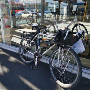 自転車パーツの購入。