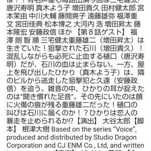 『ボイス2』8話の番組情報&寅ポーズ