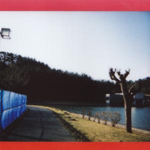 土門拳記念館にて 2020-2-24 朝 (チェキフィルム)