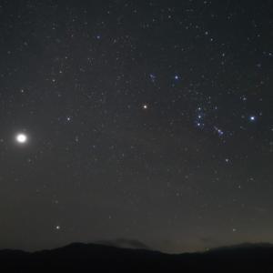 8月25日 夜明け前の「オリオン座」