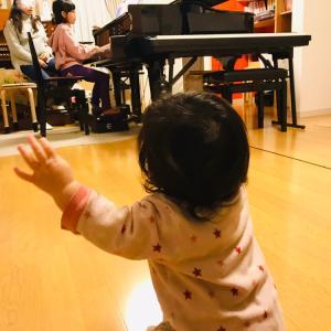 赤ちゃんも大喜び★グランドピアノの音色