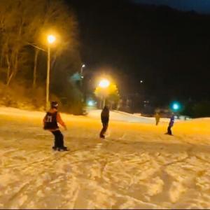 ナイタースノーボード