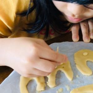 8歳★米粉クッキー作り