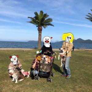 琵琶湖のオフ会に♪(^-^)♪