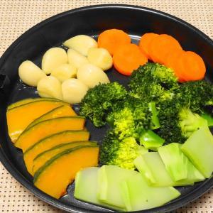 〝 不思議な蒸気鍋 〟で簡単調理∼∼∼ 温野菜♪