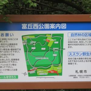 「富丘西公園」の山野草