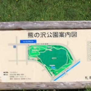 「熊の沢公園」の草花
