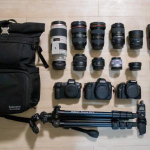 【カメラ】使用している機材一覧
