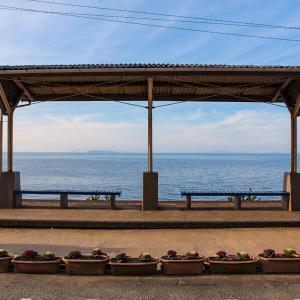 【旅行】絶景の下灘駅と宇和島鯛めしを堪能!青春18きっぷで瀬戸内海をのんびり旅する【四国一周】