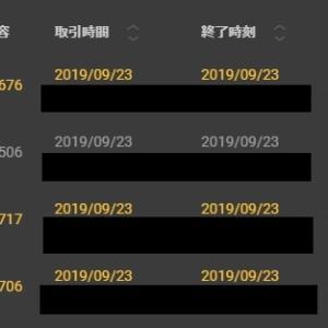 【FX&BO】9月20日~9月24日の結果