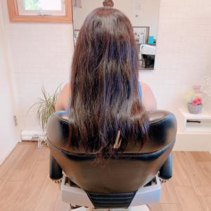 髪の量が多くても安心してヘアドネーション‼️