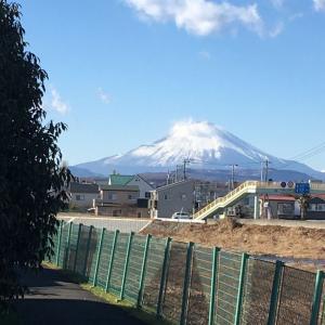 12月27日   寒そうな富士でした!