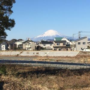 12月11日  今日も富士山が綺麗でした!