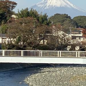 2019年11月 富士山!