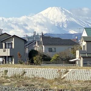 2019年11月29日 富士山 大山!