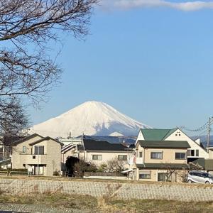 2月2日 富士山!