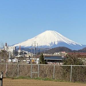 2月18日 富士山!
